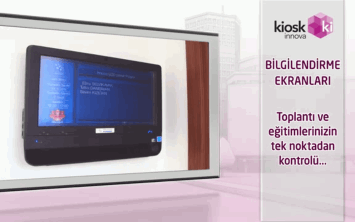 Kiosk Innova Information Displays