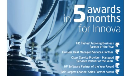 Five awards in five months for Innova