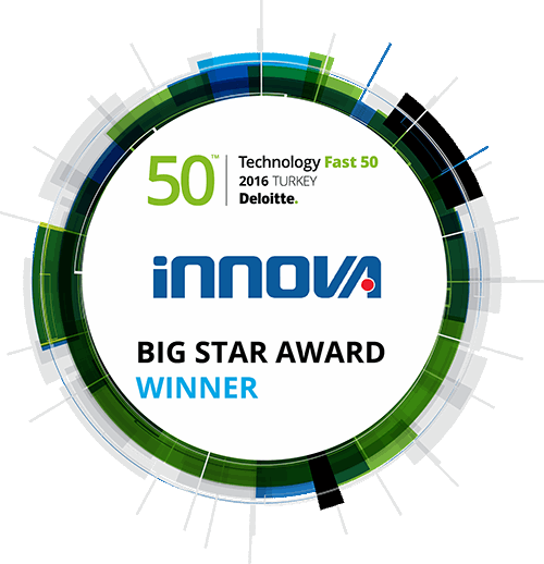 Deloitte Technology Fast50 Turkey 2016: New Record From Innova