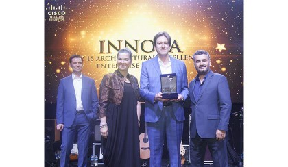 Innova Cisco has returned with two Awards from the Business Partners Summit of 2016