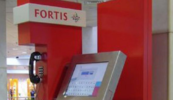 Fortis Bank Self Service Kiosks