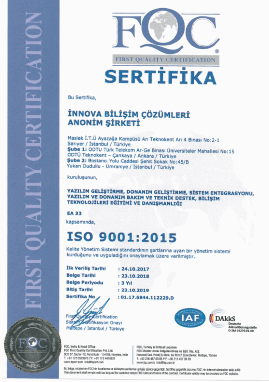TS-ISO-EN ISO 9001:2015 Quality Management System