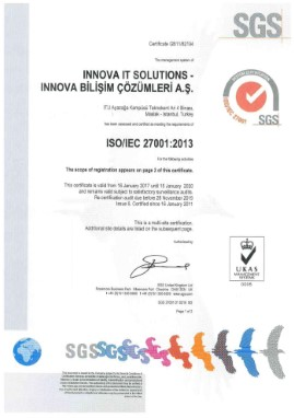 ISO/IEC 27001:2013 Information Security Management