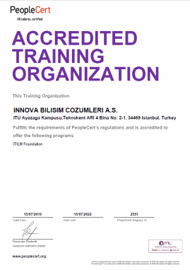 Peoplecert Accredited ITILTraining Organization
