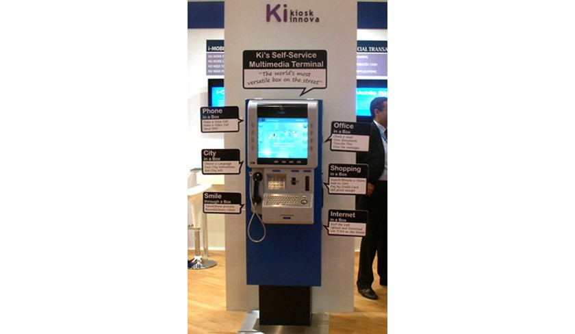 The new generation payphones have been displayed at ITU Telecom World