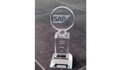 "Innova, received the ""Highest Turnover Increase"" award from SAP"