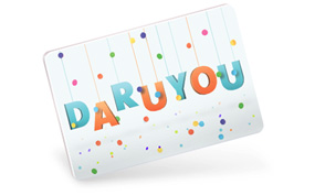 DaruYou Gift Card Project