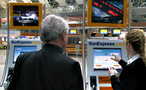 Sunexpress Self Servis Check-in Kiosku