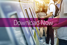 Download our whitepaper now and find out about the latest trends in ticketing kiosks